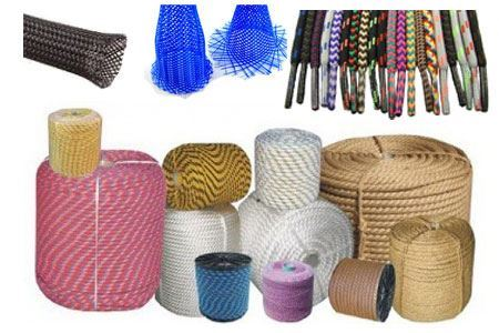 Picture for category Manufacture of cords, cables, ropes, braids