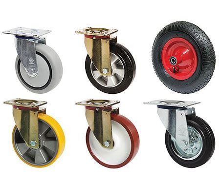 Picture for category Wheels and rollers
