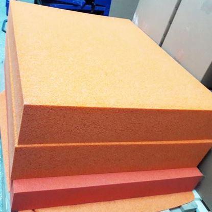 Блоки и листы из натуральной пористой резины каучука