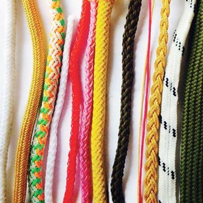 Шнуры, веревки, канаты, резинки